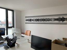 Moderne und helle Büroräume